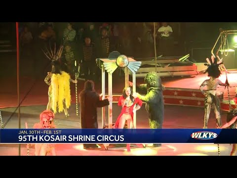Kosair Shrine Circus to return to Louisville for 95th year