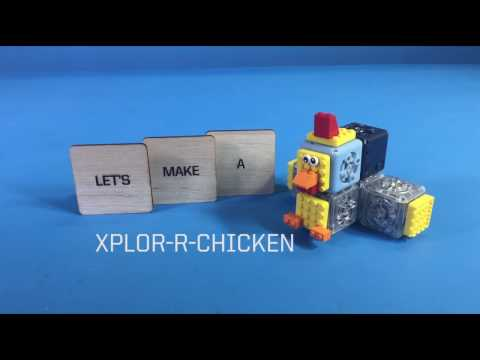 Cubelets Robot: Xplor-r-Chicken