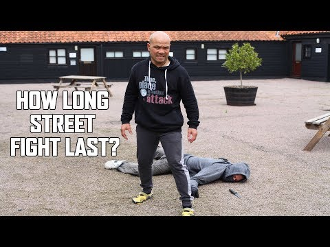 How long does the average street fight last?