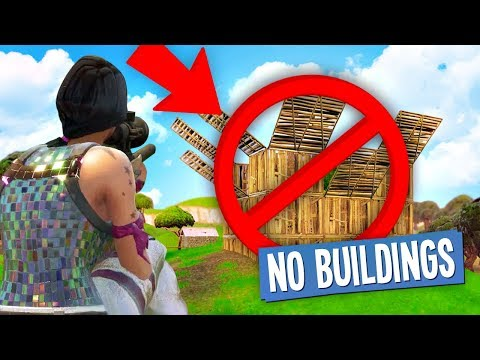 connectYoutube - NO BUILDING CHALLENGE in Fortnite Battle Royale
