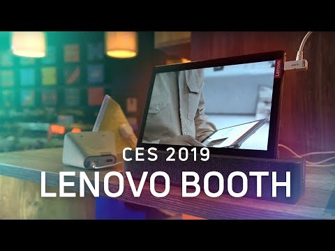 Lenovo @ CES 2019: Smart Clocks, Smart Tabs, and More!