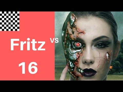 Instructive Chess Game | Dark square infiltration |   Fritz 16.10 vs Leela ID 11248