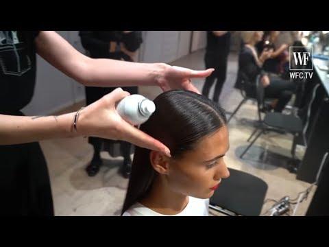 Образы и укладки  на Mercedes-benz fashion week Russia 2019