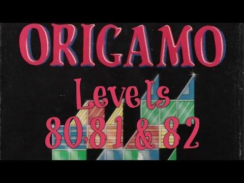 Origamo (1994) - PC - Levels 80, 81 & 82 - Basic Mode