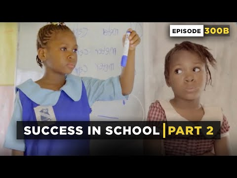SUCCESS IN SCHOOL | Part 2 - Throw Back Monday (Mark Angel Comedy)