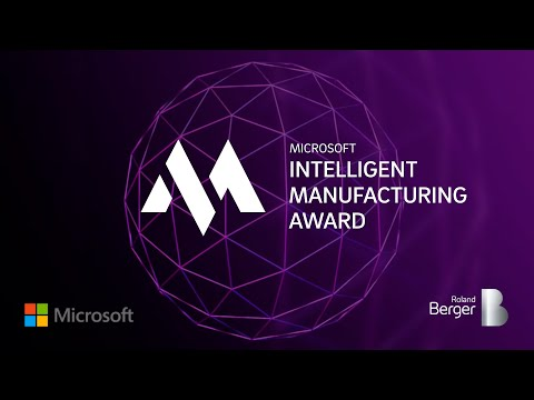 Microsoft Intelligent Manufacturing Award Winners 2020