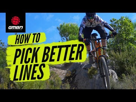 How To Pick Better Lines On Mountain Bike Trails | MTB Skills
