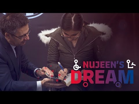 NUJEEN'S DREAM | The making of #SharingDreams