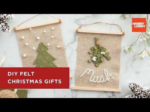 DIY Felt Christmas Gifts | Christmas | Hobby Lobby®