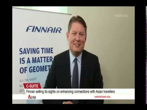 Channel News Asia's interview with Finnair's CEO Topi Manner on 30th of May, 2019.