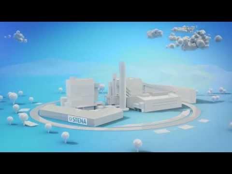 Stena bygger Sveriges modernaste återvinningsanläggning