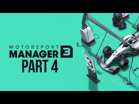 Motorsport Manager 3 Gameplay Walkthrough Part 4 - SEASON FINALE
