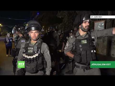 Jérusalem-Est : au moins 20 Palestiniens blessés lors d'affrontements à Cheikh Jarrah