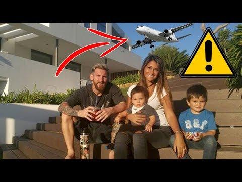 لماذا ممنوع على الطائرات التحليق فوق منزل ميسي في برشلونة!؟