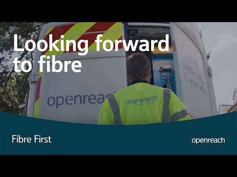 Looking forward to fibre