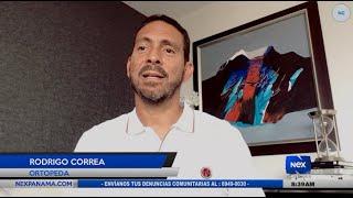 Entrevista al Ortopeda Rodrigo Correa, sobre las rutinas de ejercicios después del confinamiento