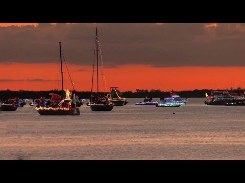 Annual Lighted Boat Parade
