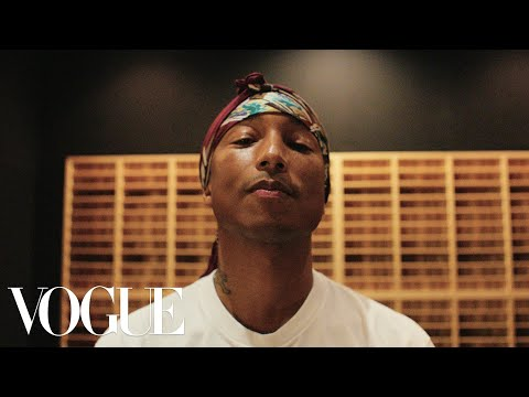 In the Studio With Pharrell Williams | Vogue