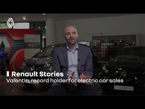 Valentin, record holder for electric car sales | Renault Group