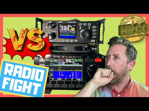 The Xiegu G90 VS. KN990 (The Meme Radio) Ham Radio Showdown