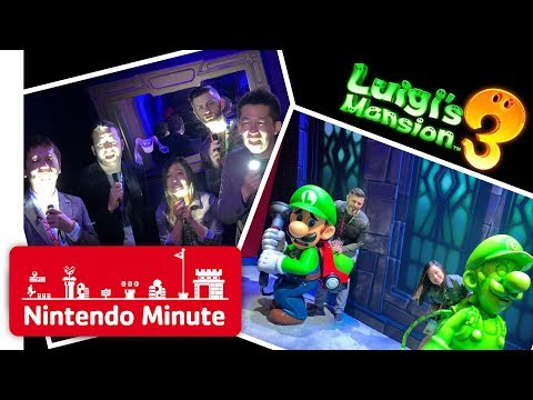 E3 Vlog Day 2 - Gettin' Spooked in Luigi's Mansion 3 - Nintendo Minute