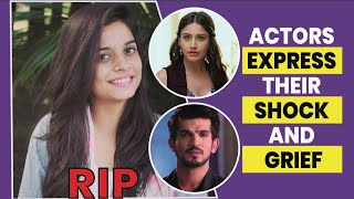 RIP Preksha Mehta I Arjun Bijlani, Surbhi Chandna, and other actors express their grief and shock I - TELLYCHAKKAR