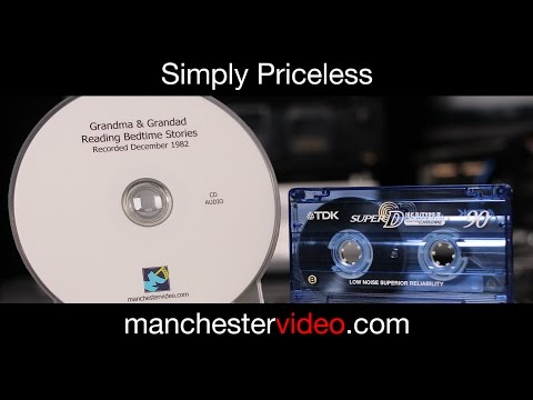 Audio Cassette to CD and MP3 Service UK