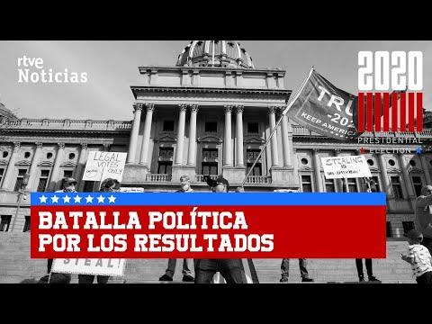 Las ELECCIONES de ESTADOS UNIDOS 2020 se han convertido en una batalla entre TRUMP y BIDEN | RTVE