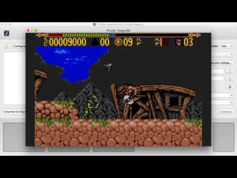 TORVAK THE WARRIOR in AmigaLive project