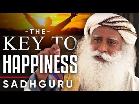 WHY THE KEY TO HAPPINESS IS WITHIN YOU - Sadhguru | London Real