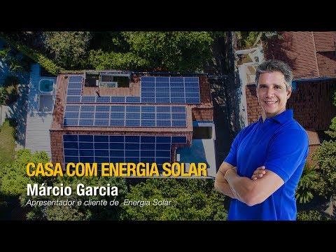 Cliente Solar: Marcio Garcia