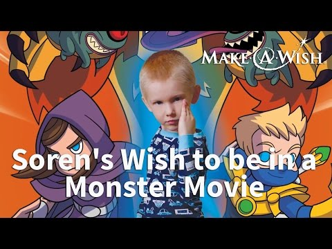 Soren's Wish to be in a Monster Movie