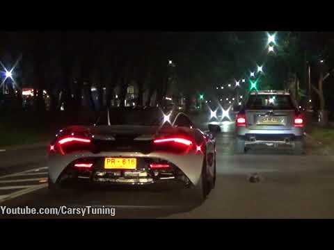 McLaren 720S - Hot Start Up Acceleration Sounds!