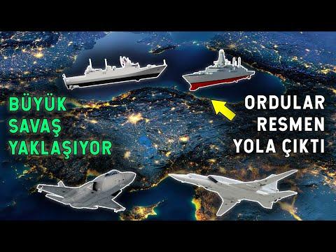 Dev Ordular Yola Çıktı! Türkiye'nin Dibinde Dev Kapışma