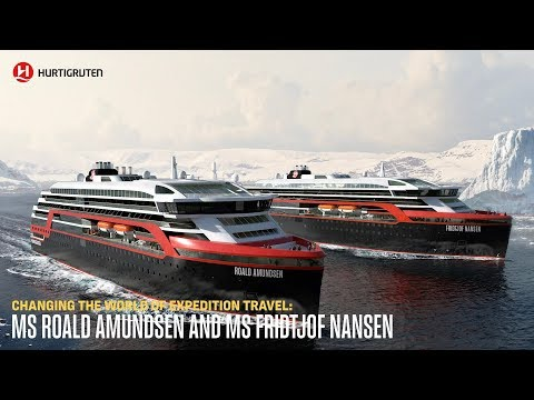 Changing the world of expedition travel: MS Roald Amundsen