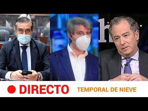 EN DIRECTO 🔴 Rueda de prensa de la Comunidad de Madrid sobre el TEMPORAL DE NIEVE Y FRÍO   RTVE