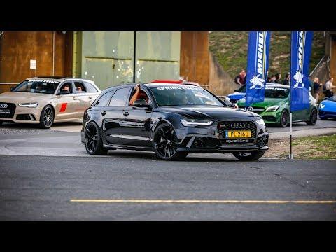 Audi RS6 C7 w/ Decat Downpipes - LOUD Revs & Accelerations !