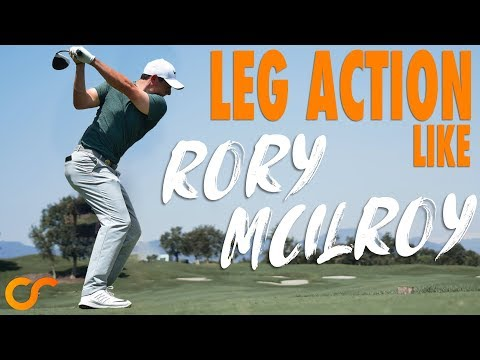 HOW TO GET LEG ACTION LIKE RORY MCILROY