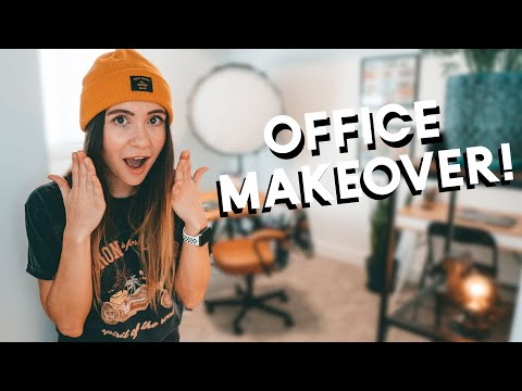 OFFICE MAKEOVER!! Our New Office Tour
