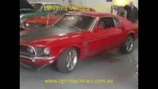 1969 Ford Mustang - MACH 1 - www.tgsmusclecars.com.au