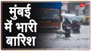 Mumbai Monsoon 2021: मुंबई में फिर तेज़ बारिश शुरू, मौसम विभाग का अलर्ट जारी   Latest Hindi News - ZEENEWS