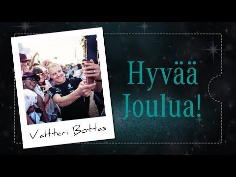 Valtteri Bottas toivottaa Rauhallista Joulua!