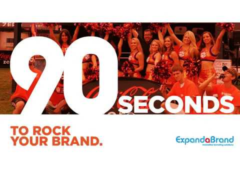 90 seconds to rock your brand
