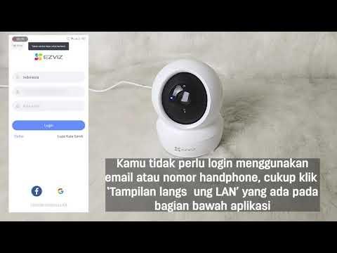 Connect Kamera Ezviz secara lokal / offline ? BISAAAA !