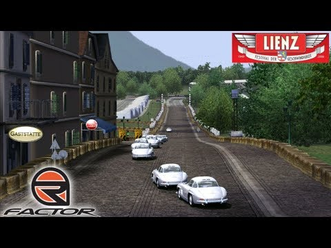 MERCEDES 300 SL Gullwing @ Lienz GP Short || rFactor (PC) Gameplay en Español