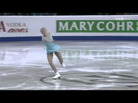 Ksenia Makarova - Short Program - 2012 European Figure Skating Championships