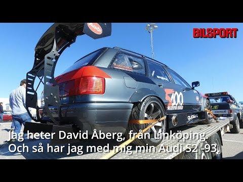 David Åberg med sin S2 på Bilsports träff i Linköping