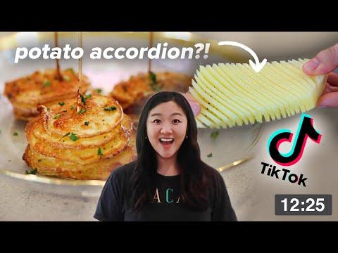 I Tried Viral TikTok Potato Recipes Using An Air Fryer ? Tasty