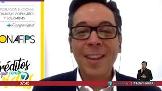 #EntrevistasTelediario | Roberto Romero, presidente del directorio de CONAFIPS