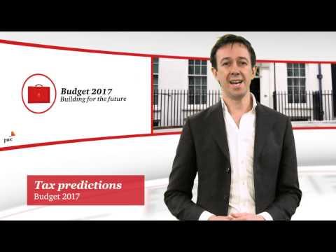Budget 2017 - Tax predictions
